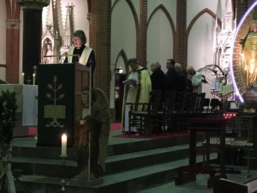 Afsluiting Week van gebed in Budel