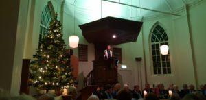 Kerstavonddienst in Budel