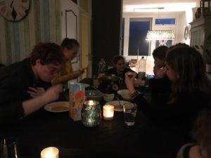 Eten met de jeugd