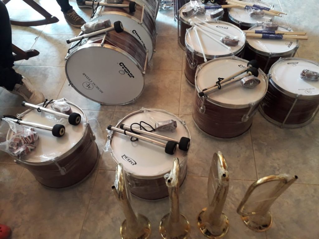 muziekinstrumenten