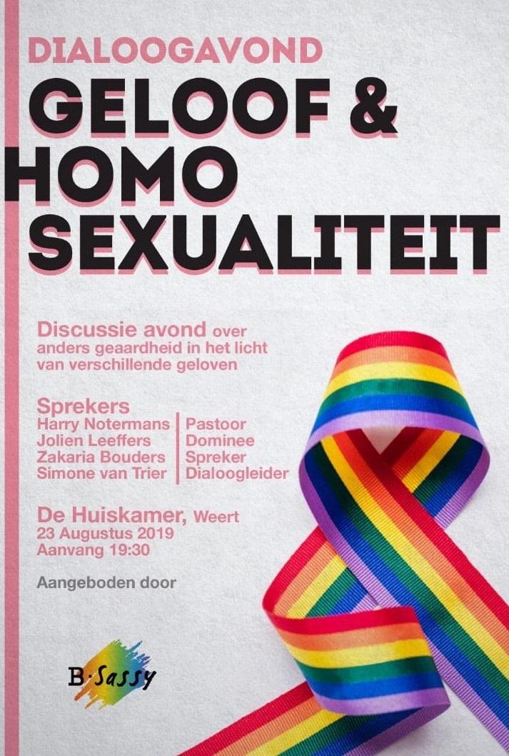 2019-08-23 Dialoogavond Geloof en Homosexualiteit