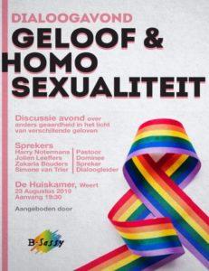 2019-08-23 Geloof en Homoseksualiteit