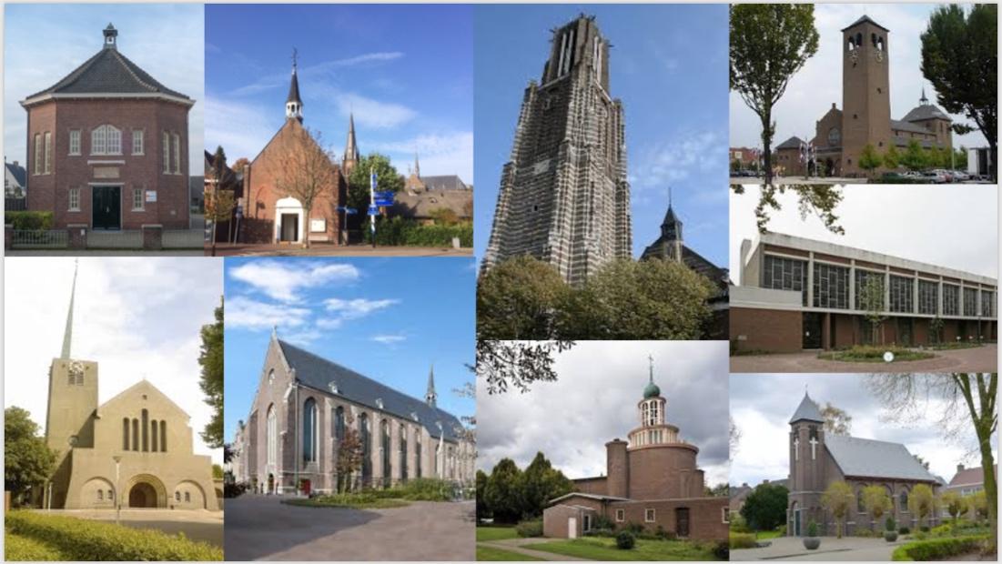 Afbeelding met gebouw, huis, buiten, kerk  Automatisch gegenereerde beschrijving