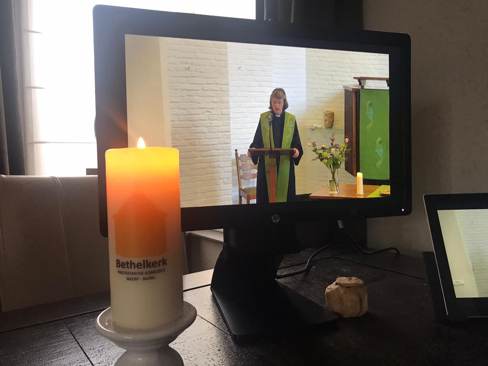 Online kerkdienst