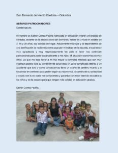 MDO Bericht uit Colombia: Esther
